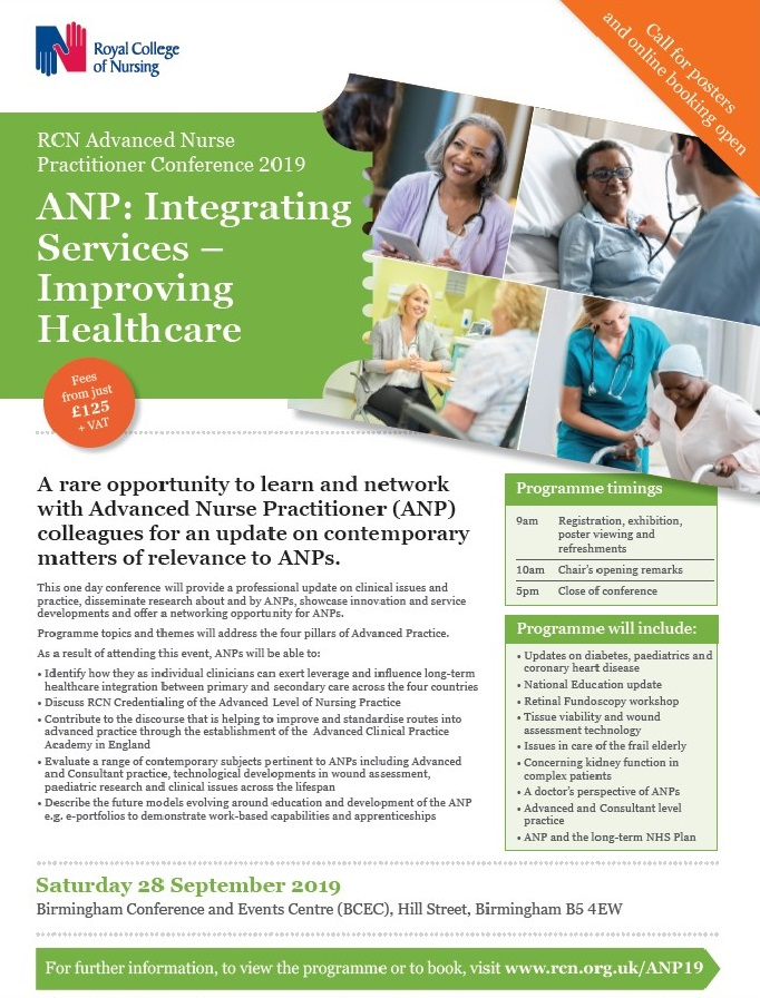 RCN ANP National Conference – AAPE